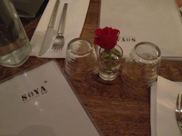 Restaurant Soya in Paris. Foto: Linda Sabin