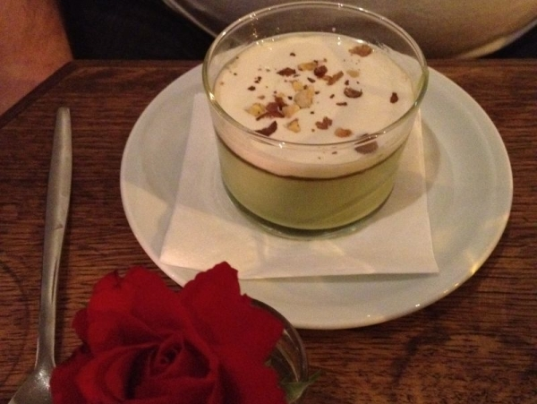 Dessert im Soya. Foto: Linda Sabin