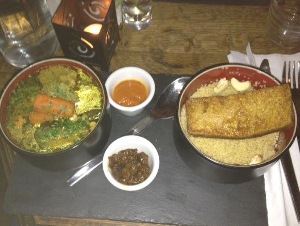 Köstliches Hauptgericht im Soya. Foto: Linda Sabin