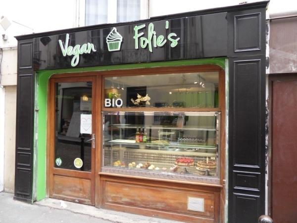 Der Laden Vegan Folie´s. Foto: Linda Sabin