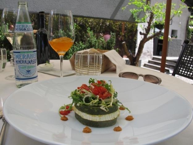Im Kränzlhof kann man sehr gut essen und trinken. Genauer gesagt im Gasthof miil. Foto: Doris