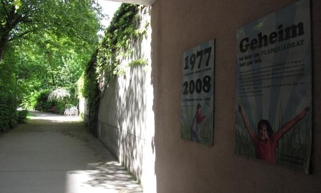 Seit 1977 wird das Planquadrat im 4. Bezirk privat geführt, ist aber ein öffentlicher Park. Foto: Doris