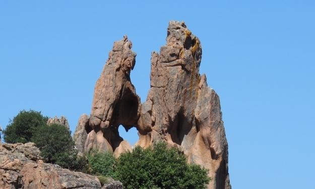 Ich habe mich verliebt ;-) Eines der bekanntesten Fotomotive Korsikas, das Herz. Foto: Doris
