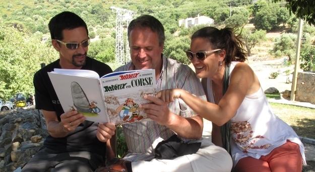 Gelacht haben wir auf dieser Reise viel - trotz oder wegen der Pannen. Aber sicher nicht nur wegen Asterix. Foto: Christel