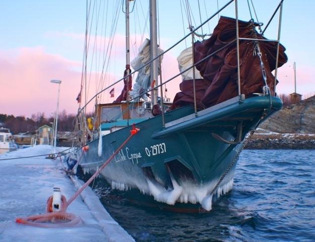 Das Leben auf hoher See ist zum Alltag geworden. Foto: fortgeblasen