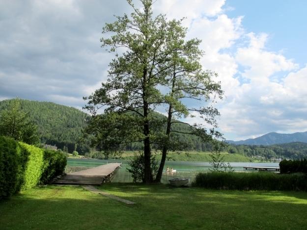 Der Seezugang von der Loving Hut Pension ist ebenfalls ein Pluspunkt. Foto: Doris