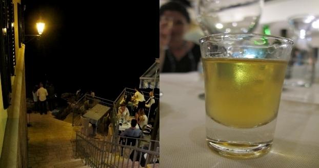 Am Abend werden die Meeresufer zu Bars, in denen man u.a. auch Honigschnaps trinkt. Foto: Doris