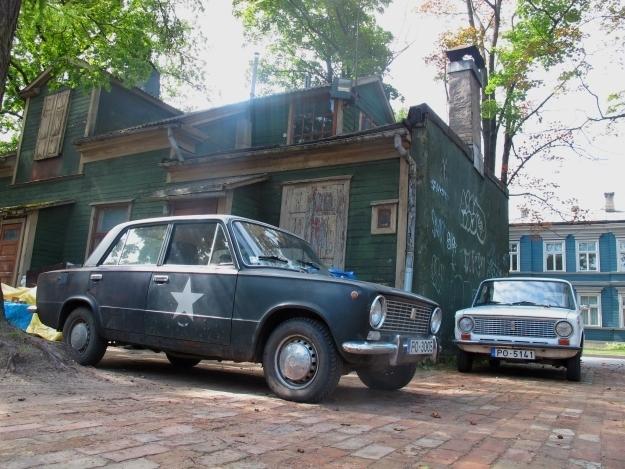 Ein Auto braucht man in Riga kaum, genauso wenig wie die Öffis. Foto: Doris