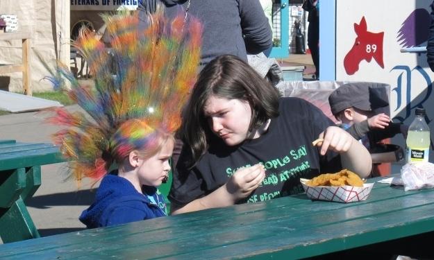 Auch die zwei essen kein Eskimoeis. Foto: Doris