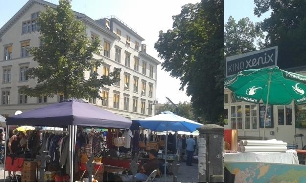 Am Flohmarkt findet man gute Schnäppchen, auch in Zürich. Foto: Doris