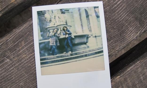 Caro & ich - ein Gruppenfoto. Foto: Gilbert