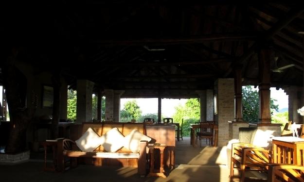 Empfangshalle und Wohnzimmer für uns. Foto: Doris