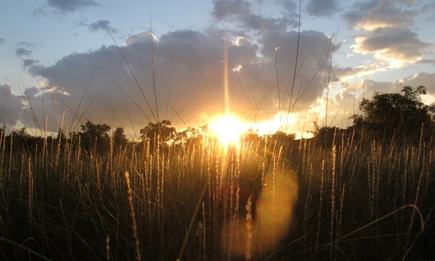 Satai at Toria bei Sonnenuntergang. Foto: Doris