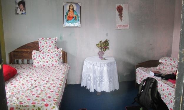 Mein Zimmer für 2 Tage. Foto: Doris