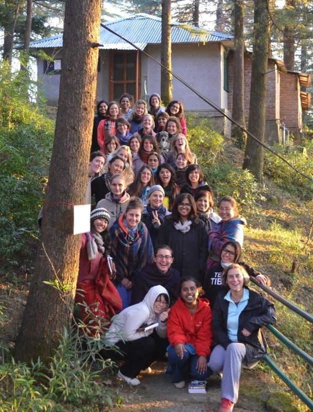 Wir haben es geschafft: Die Mädels am letzten Tag! Foto: Anupama