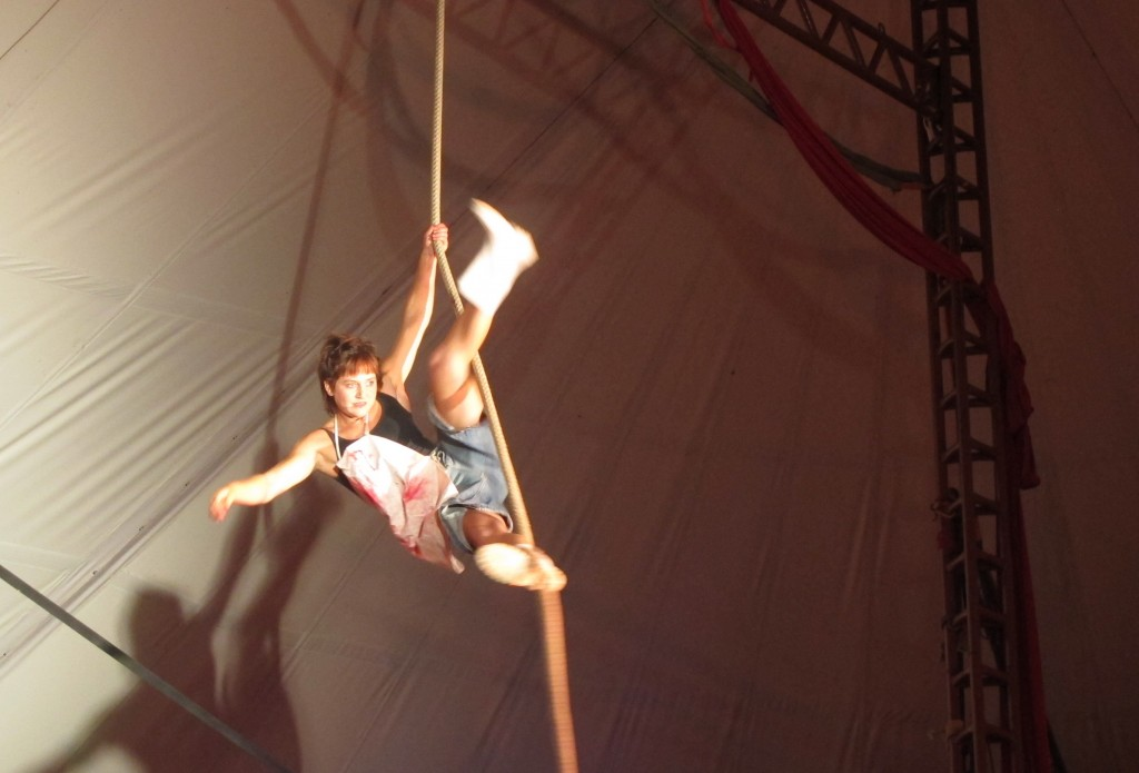 Zirkus-Akrobatik vom Feinsten. Foto: Doris