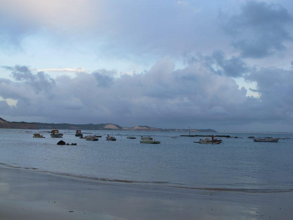 Morgenstimmung am Strand. Foto: Doris