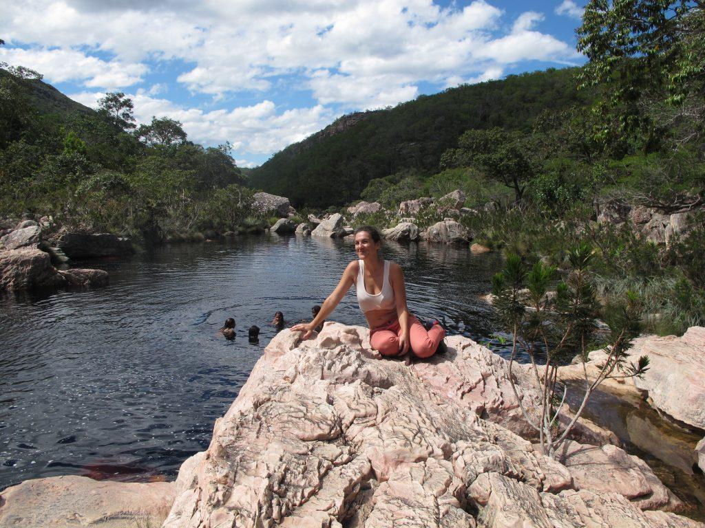 Gleich am ersten Tag (und ausgerüstet) geht es zum Rio Preta, dem schwarzen Fluss. Foto: Andrea